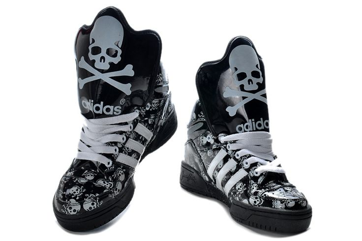 Adidas Shoes High Tops Glow In The Dark