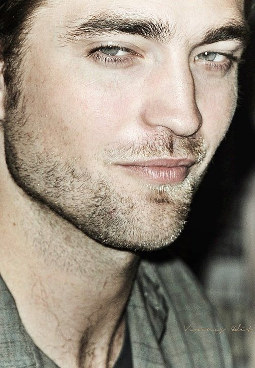 Robert Pattinson...throat appeal.  :-)