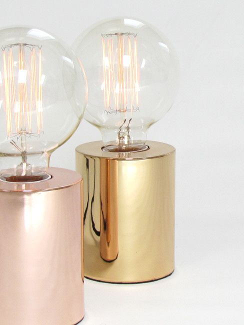 Sil Table Lamp, Brass