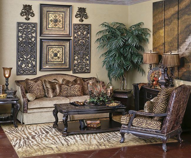 Old World Decor Living Room Ideas In