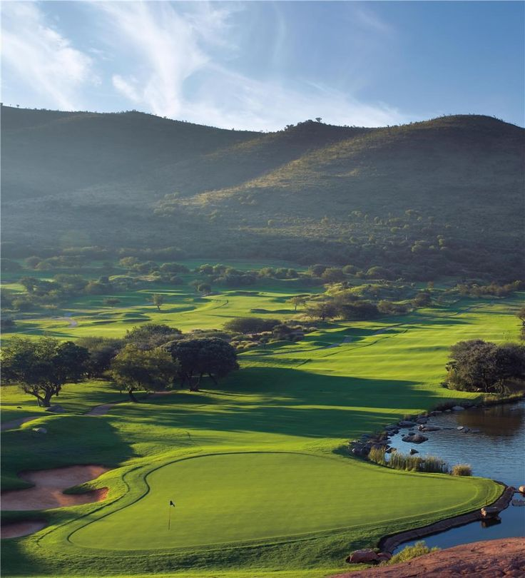 Lost City Golf Course - 9th hole