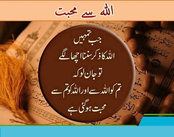 Love of Allah | I love Allah | Allah, Islamic quotes ...