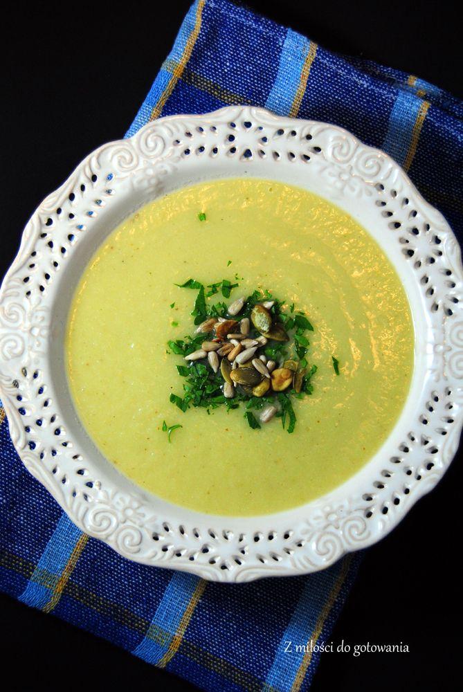 Zupa krem z pora i kalafiora