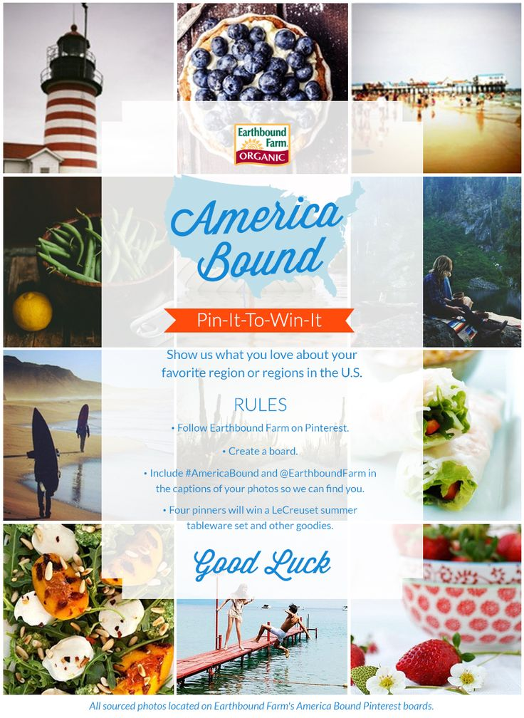 Are you from the south? What are the flavors and feelings? Create a board showing us your area of America to win a $150 gift from Earthbound Farm, including a Le Creuset serveware set! #AmericaBound #AmericanBound @Earthbound Farm