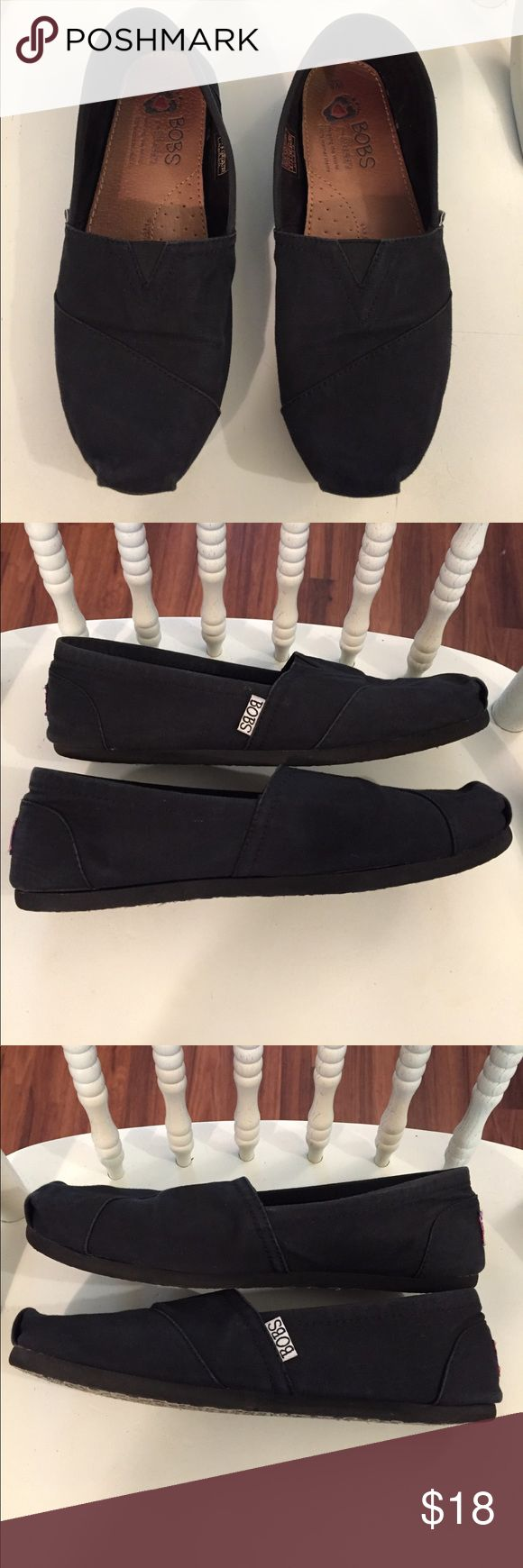 Black BOBS Shoes Black BOBS Shoes size 8 Women's. In great condition. Have been worn about 5 times but still have lots of life left. Goes with just about anything! BOBS Shoes Flats & Loafers