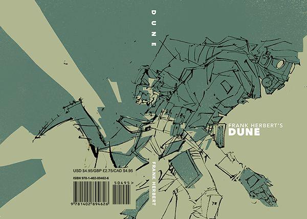 Dune Book Cover on RISD Portfolios