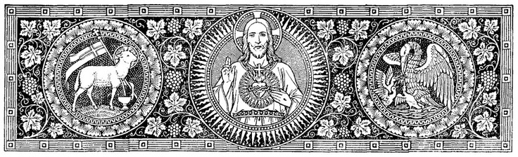 The Sacred Heart Of Jesus Catholic Line Art Pinterest