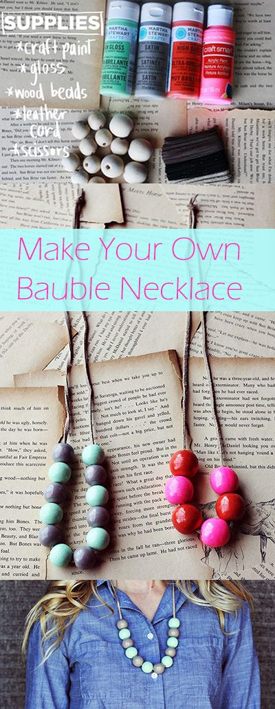 Make Your Own Bauble Necklace