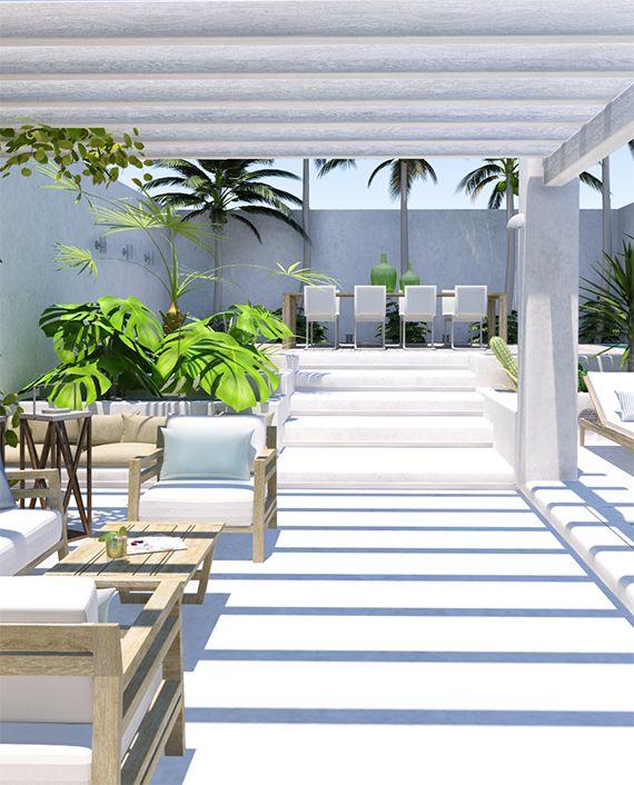M s de 25 ideas incre bles sobre cubiertas para patio en pinterest dise os de cubierta de - Cubiertas para patios interiores ...