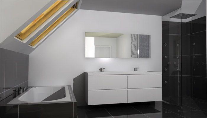 badkamermeubel wit - Google zoeken