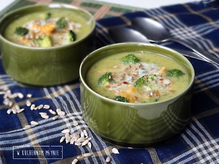 Zupa brokułowo- porowa