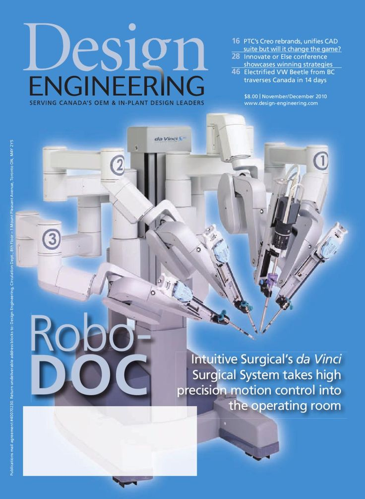 Design Engineering  Design Engineering is a magazine for mechanical engineers, machine builders, product developers, industrial designers and related professionals practicing in Canada. Canada's leading engineering design publication, Design Engineering has been in continuous publication since 1955. This national magazine fosters innovation by providing cutting-edge coverage on a broad range of engineering topics including MCAD, PLM, fluid power, motion control, rapid prototyping…