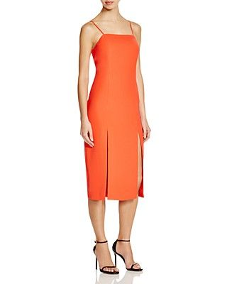 C/MEO Collective The Playmate Double Slit Dress