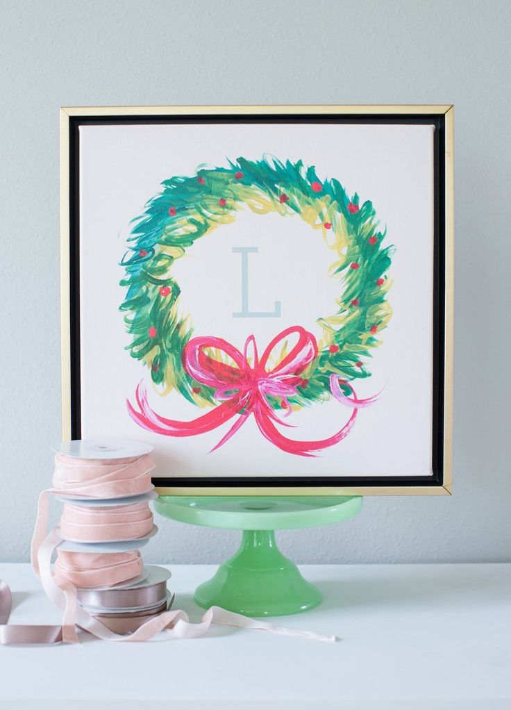Alphabet Christmas Wreath Of 154 Best Images About Art D Cor Things I Love On