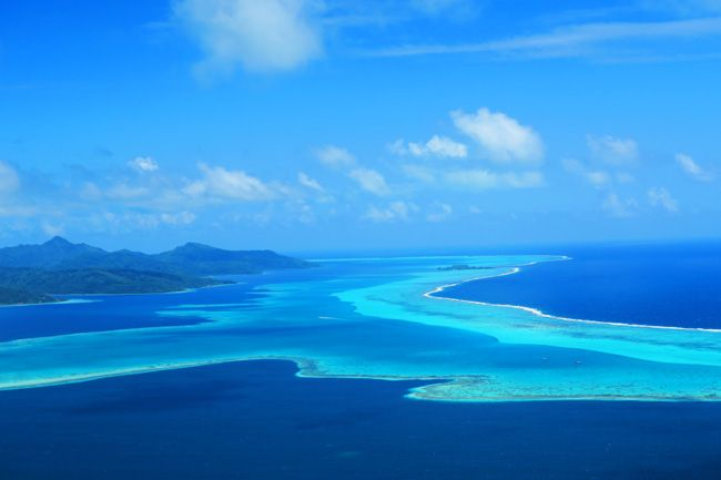 Raiatea- the second largest island in the Society Islands  of French Polynesia