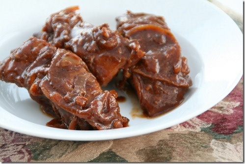 Post image for Guest Post ~ BBQ Country Ribs In The Slow Cooker by Dorothy of Shockingly Delicious