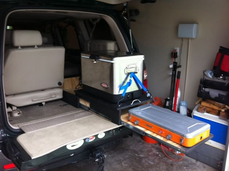Truck Camping Ideas >> Homebrew fridge/stove slide combo - Expedition Portal ...