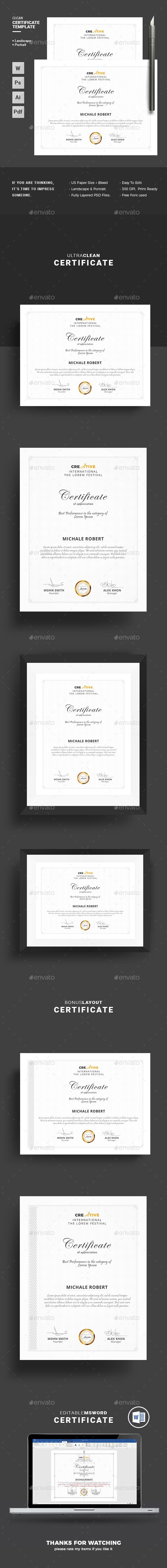 Certificate Corporate & Modern Certificate Template. Use this Certificate Template in your business, company or institution in completion of any course, training ,degree or job. Also you can use this Multipurpose Certificate Template as award giving certificate, certificate of excellence, certificate of appreciation, certificate of achievement, certificate of recognition or related purpose.