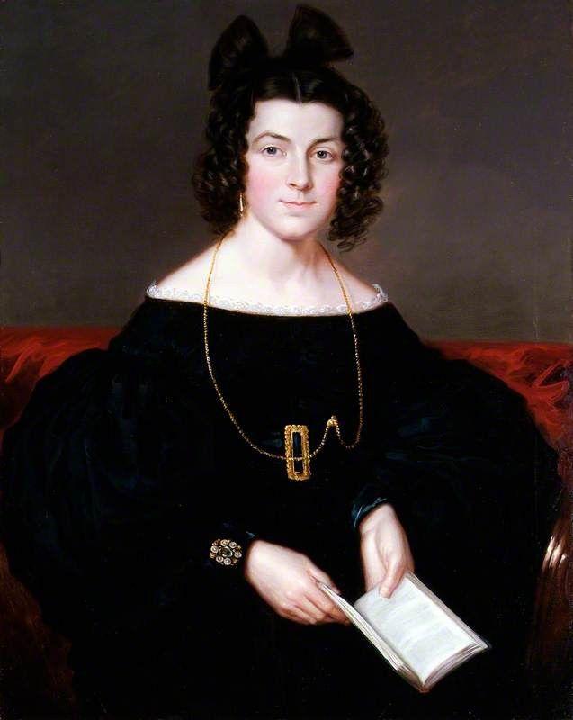 Miss Agnes McCallum Date painted: 1836