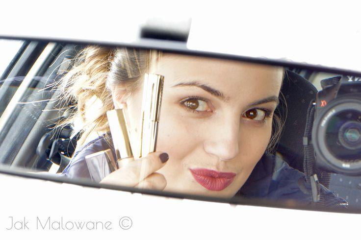 Makeup on the go? It's possible! // Ekspresowy makijaż na czerwonym świetle