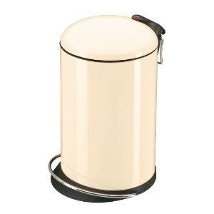 Hailo 0516-570 Design Tret-Abfallsammler Trento® TOPdesign 16, Vanille: Amazon.de: Küche & Haushalt