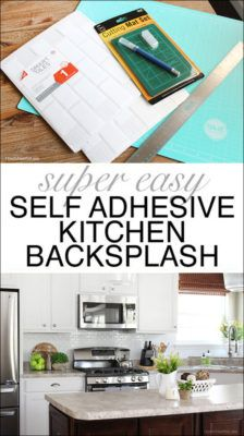 self adhesive kitchen backsplash - Stein Backsplash Ideen Fr Die Kche