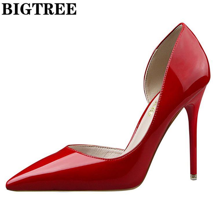 Купить товарКрасные туфли лодочки Брендовая обувь Женская обувь на каблуке пикантные вечерние туфли на высоком каблуке женская свадебная обувь Офисные Насосы Туфли от Zapato Mujer в категории Туфли-лодочкина AliExpress. Красные туфли-лодочки Брендовая обувь Женская обувь на каблуке пикантные вечерние туфли на высоком каблуке женская свадебная обувь Офисные Насосы Туфли от Zapato Mujer