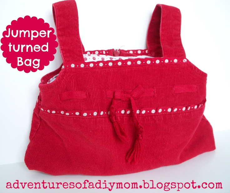 How to turn an old Jumper into a Bag