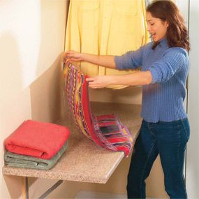 1000 ideas about laundry folding tables on pinterest