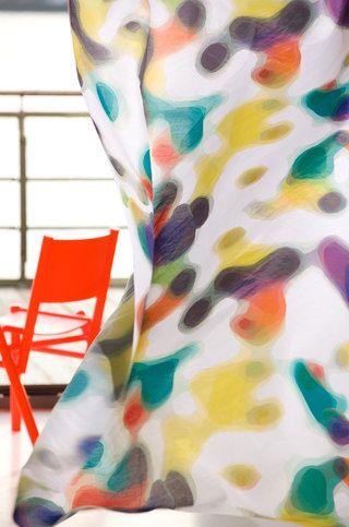 de kleuren van de gordijnen kan je zelf bepalen Splash | Kinnasand