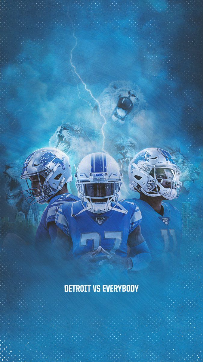 Detroit Lions On Twitter Detroitvseverybody In 2020 Detroit Lions Wallpaper Sports Wallpapers Detroit Lions