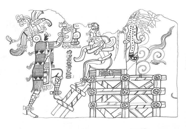 ANCIENT MAYA MURAL AT SAN BARTOLO, GUATEMALA TELLS STORY OF MYTHS AND KINGS