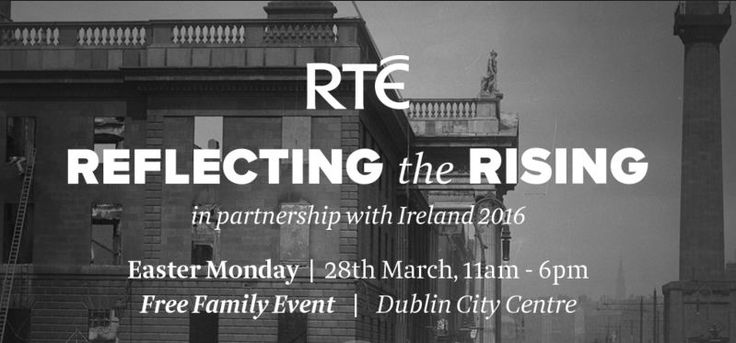 Trinity Hosts RTÉ Reflecting the Rising Events
