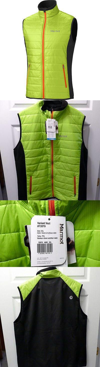 Vests 179012: Marmot Variant Hike Winter Camp Ski Snow Board Insulated Vest Jacket Mens Sz Xxl -> BUY IT NOW ONLY: $89.95 on eBay!