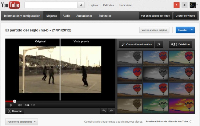 Editors de video on line
