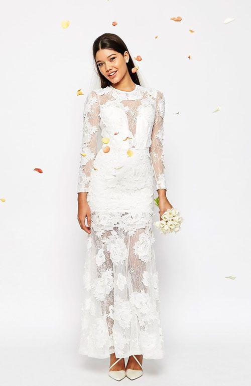 618 best short wedding dresses reception dress second for Maxi dress for wedding reception