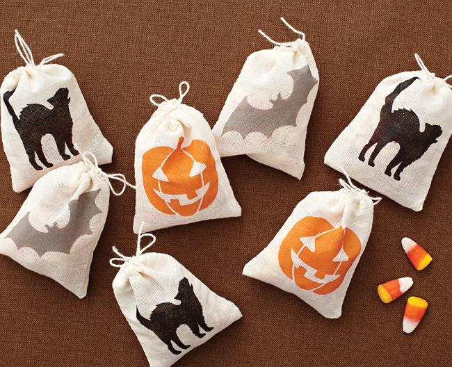 martha stewart treat bags - Martha Stewart Halloween Cakes