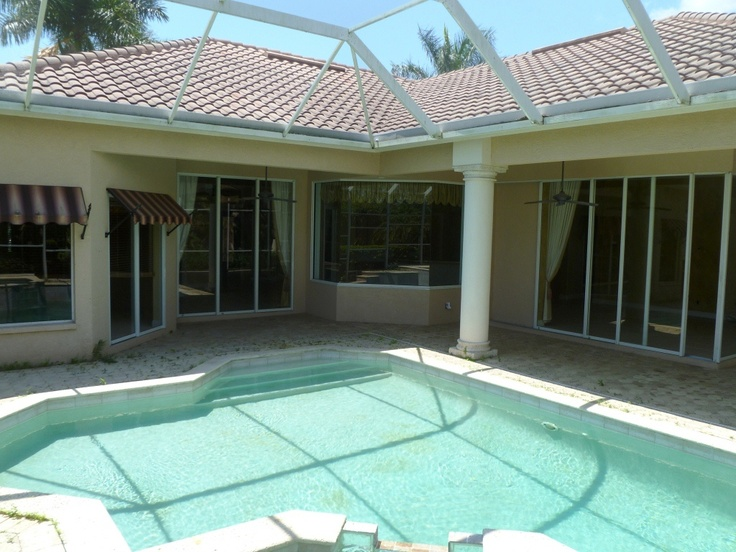 17 best images about exterior of house on pinterest for Florida lanai