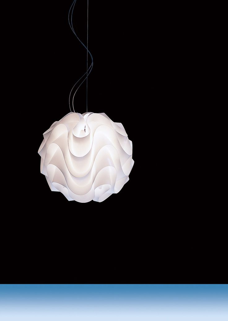 Spumone S - Lamp - Suspension lamp - Shade Design Poul Christiansen - Le Klint - 1971