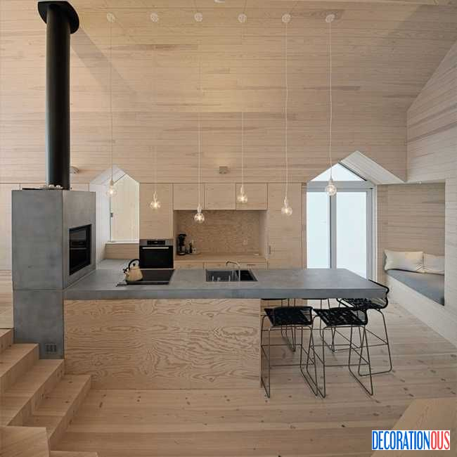 Areas & Spaces | Split View Mountain Lodge By Reiulf Ramstad Arkiteckter - http://www.decorationous.com/interior-decoration/areas-spaces-split-view-mountain-lodge-by-reiulf-ramstad-arkiteckter.html