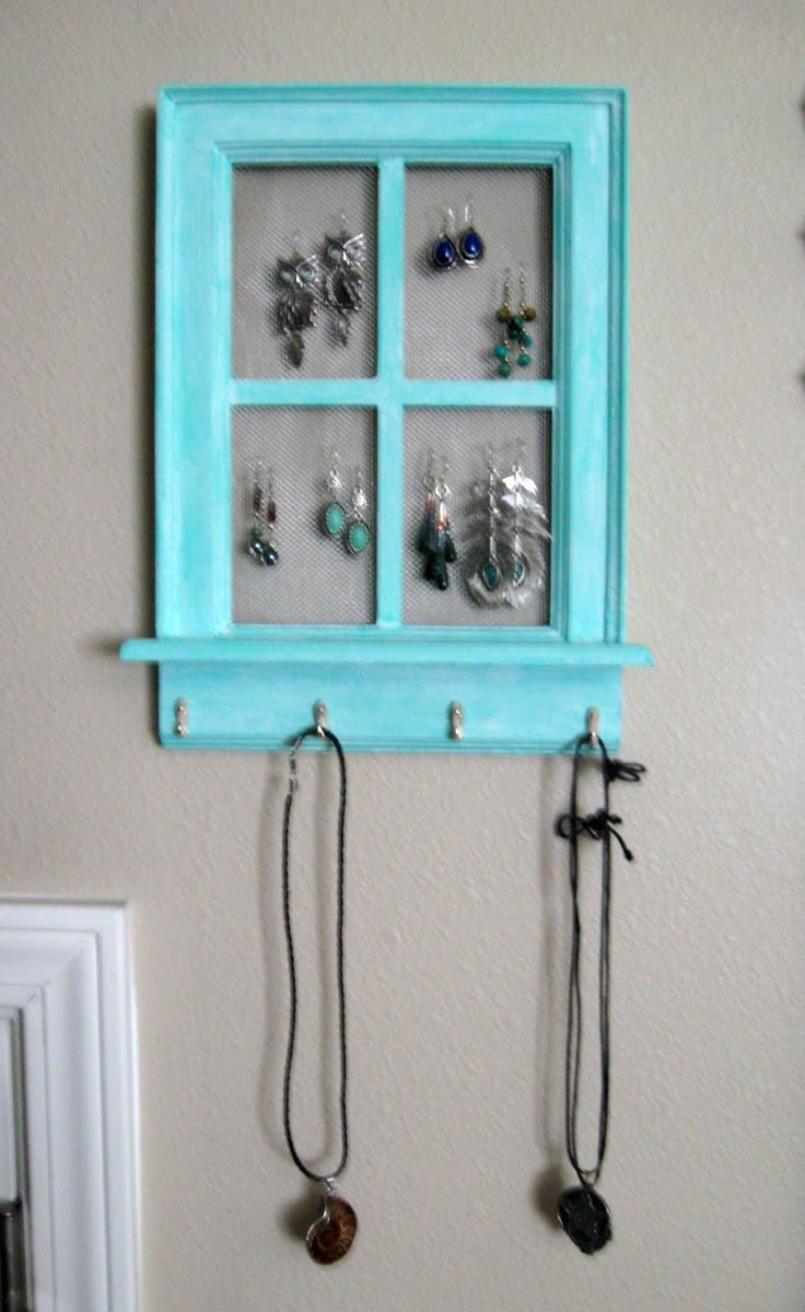 Jewelry Holder Wall Best 25 Diy Jewelry Hanger Ideas That You Will Like On Pinterest