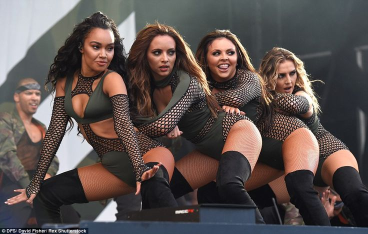 Headline act: Little Mix enjoyed a well-received appearance in Chelmsford on Sunday evening, less than 24-hours after entertaining fans with an identical show in Staffordshire