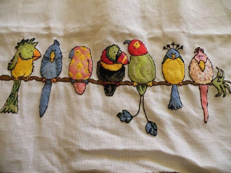 Bothy Threads- Exotic Birds