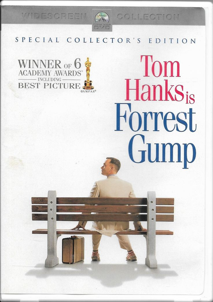 Yep, life is like a box of chocolates! Forrest Gump DVD Ebay: tomantique2002