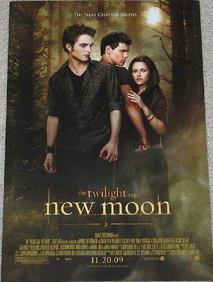 the twilight saga New Moon Movie Advance Promo Poster