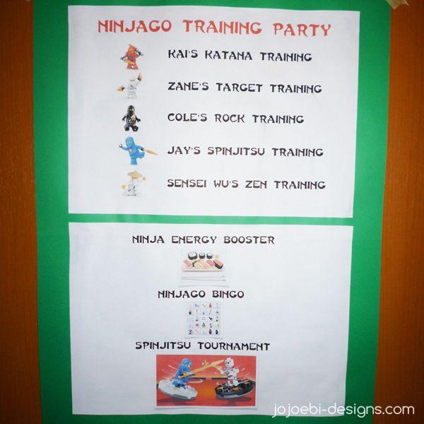 jojoebi designs: Ninjago Birthday Party - The games