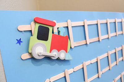 DIY: Potty Train Chart