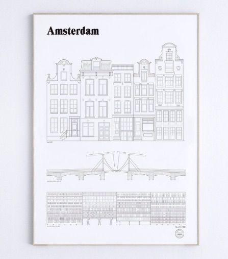 Studio Esinam landmarks Amsterdam