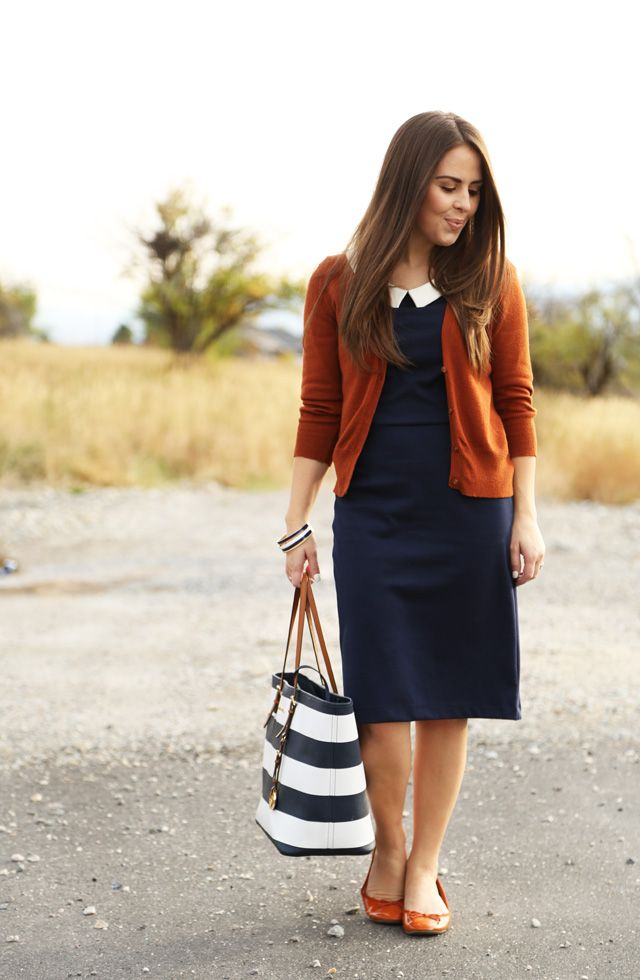 I like the orange, but I have a pink cardigan I can use like this. Where is my pink cardigan?