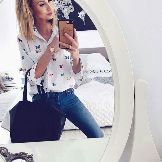 Na dzień dobry urocza @paula_jagodzinska w naszej koszuli  www.mosquito.pl #ootd #outfitoftheday #mosquitopl #polishgirl #fashion #fashiongram #style #love #beautiful #currentlywearing #lookbook #wiwt #whatiwore #whatiworetoday #ootdshare #outfit #clothes #wiw #mylook #fashionista #todayimwearing #instastyle #instafashion #outfitpost #fashionpost #todaysoutfit #fashiondiaries